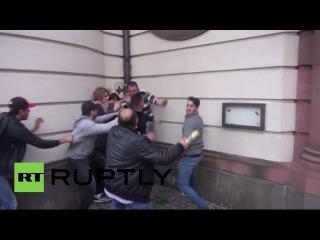 Germany: Blood on Frankfurt's streets as Turkish and Kurdish protesters clash