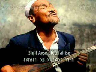 Çifte gözler yanar kara - Uygur Türküleri (çok acı bir ezgi)