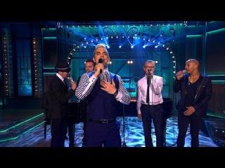 "Вечерний Ургант. Робби Уильямс - ""Акапелла"" (10.04.2015) Robbie Williams"