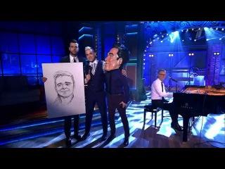 "Вечерний Ургант. Робби Уильямс - ""Angels"" (10.04.2015) Robbie Williams"