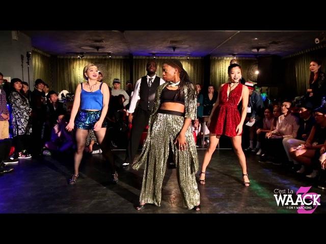 Showcase【Infinity ft Chrissy, Maya, Bagsy, Madoki】| 20151101 C'est La WAACK Vol.3