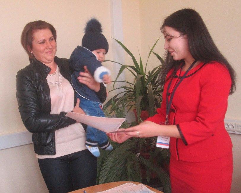 Мамочки Зеленчукского района получили сертификаты на материнский капитал