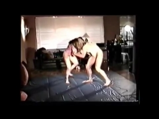Real Competitive Female Wrestling Lee Price vs Ziggy