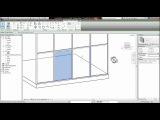 REVIT - Placing a Door Into a Glass Curtain Wall Tutorial