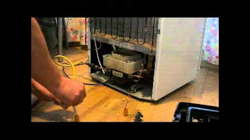 Замена двигателя в холодильнике