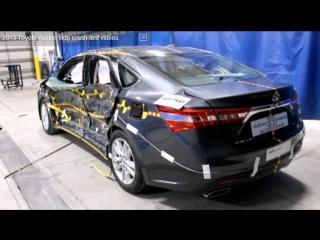 Краш тест Toyota Avalon - Авто-Зона.рф безопасность превыше всего euroncap АвтоЗона