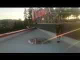 Прыжок с крыши ТРЦ