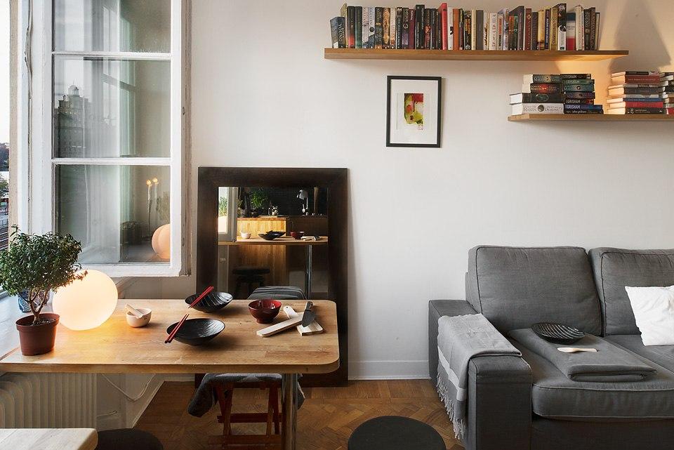 Квартира-студия 27 м в Европе.