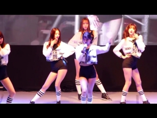 [FANCAM] 24.09.15 9MUSES - Hurt Locker @ Yong Police College Festival