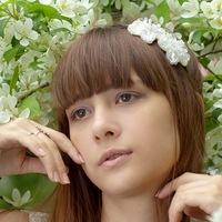 Логотип Бьюти-фотосессия. Портрет с цветами. Хабаровск