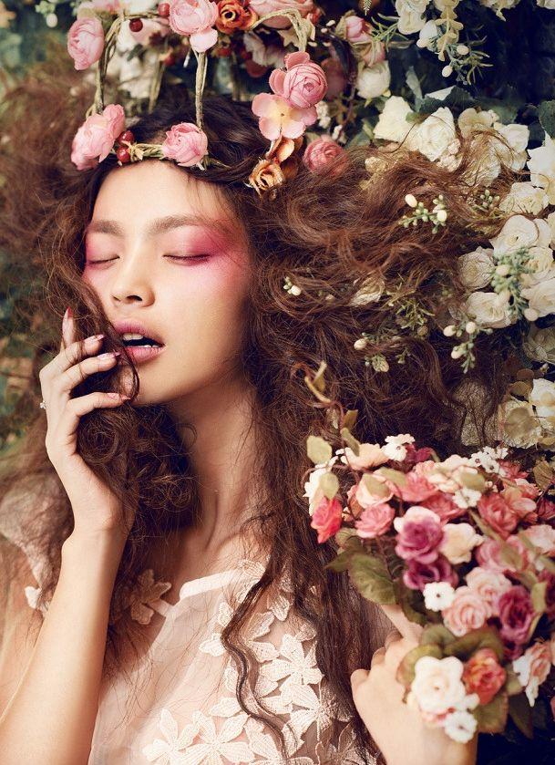 Афиша Хабаровск Бьюти-фотосессия. Портрет с цветами. Хабаровск