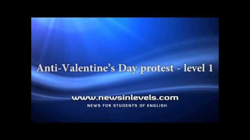 Anti Valentine's Day protest - level 1