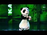 Смешной танец панды на ТНТ :D
