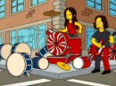 The White Stripes The Hardest Button To Button ft Bart Simpson