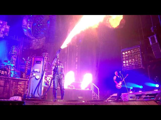 Rammstein Benzin Live from Madison Square Garden