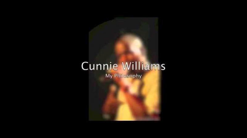 Cunnie Williams - My Philosophy