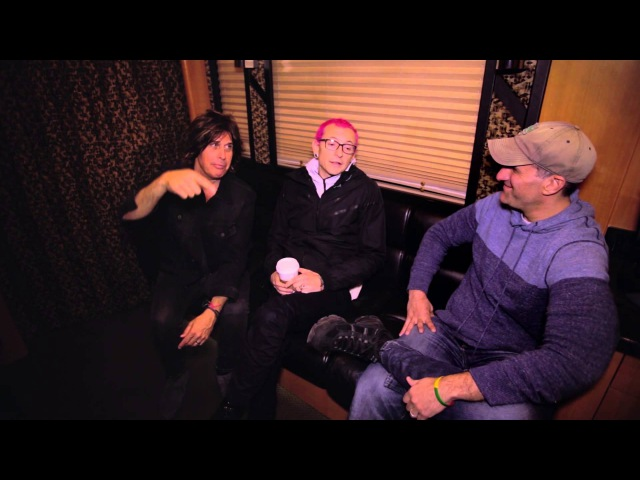 A-Sides Interviews: Stone Temple Pilots' Chester Bennington and Dean DeLeo (5-4-2015)