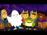 Goodbye, My Friends | Halloween Party Song | Super Simple Songs