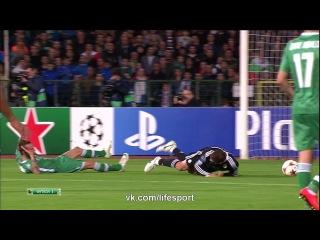 Лудогорец 1:0 Реал Мадрид | Незабитый пенальти Роналду HD