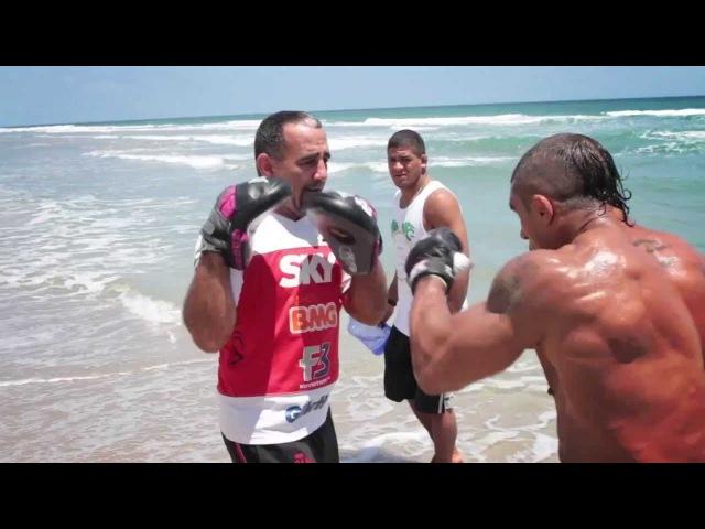 Vitor Belfort training in Florida with Pedro Diaz