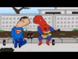 Смешная песенка про Тони Старка и Человека Паука)