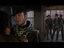 For a Few Dollars More Clint Eastwood's Entrance 1965 HD