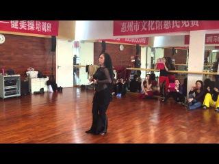 Наталья Каменчук Китай . Kamenchuk Natalia solo tabla China 2014