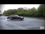 Brabus CLS 850 - Powerslides and Burning Rubber