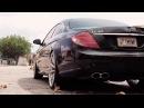 Mercedes Benz CL65 AMG on 22 Vossen VVS CV1 Concave Wheels Rims