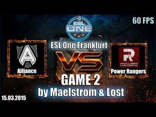 ESL One Frankfurt: Alliance vs PR, 2 игра, 15.03.2015