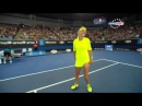 Wozniacki VS Azarenka Dancing After win - Australian Open 2015