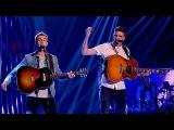 The Mac Bros. perform 'Bohemian Rhapsody Johnny B. Goode Oh My God' - The Voice UK 2015 - BBC One