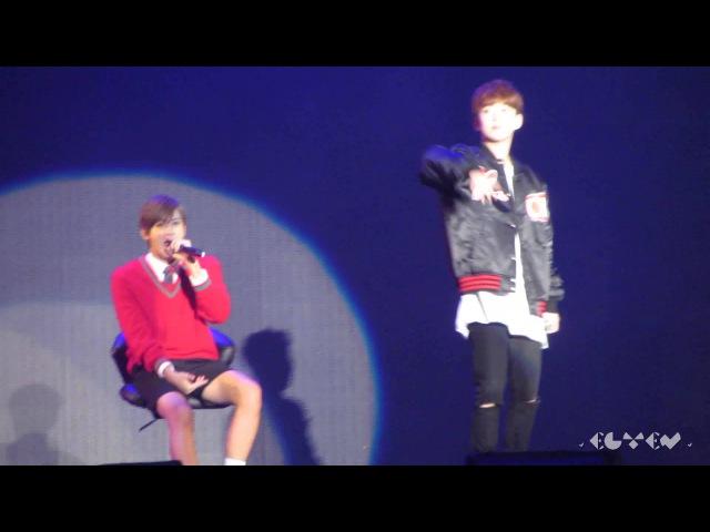 [HD Fancam]151024 ACC Top Group Tour Concert - Block B - 로맨틱하게