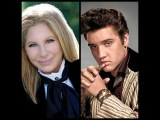 Barbra Streisand with Elvis Presley