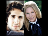 Barbra Streisand with Josh Groban