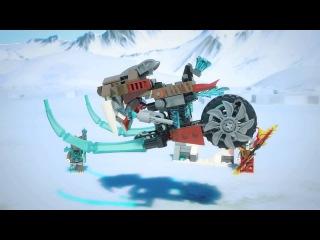 Конструктор Lego Legends of Chima 70220 Лего Легенды Чимы Саблецикл Стрейнора