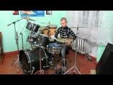 Rammstein - Ich Will - Drum Cover - Drummer Daniel Varfolomeyev 10 years
