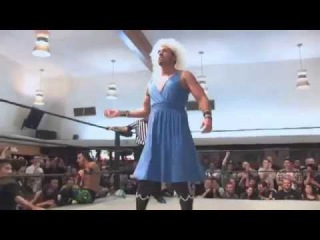 Chuck Taylor is a man enough to not wrestle women, but what if he is a woman?