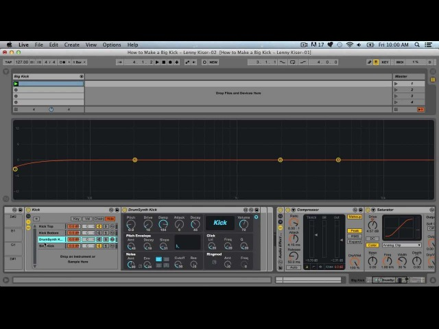 How To Make A Great Kick Drum - With Lenny Kiser