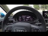 Первый обзор нового AUDI А4 (B9) (2016 модельного года)