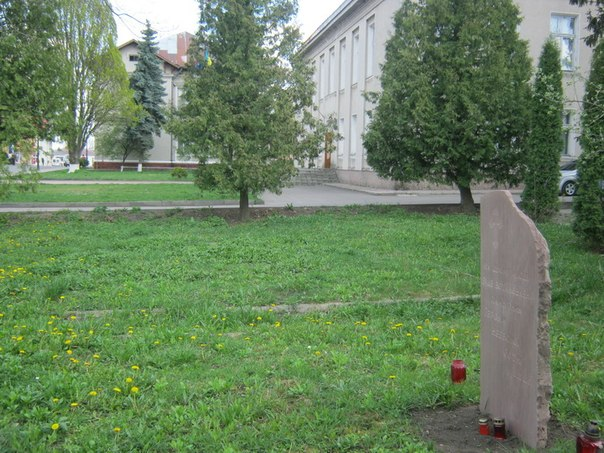 Тут запланували встановини пам'ятник