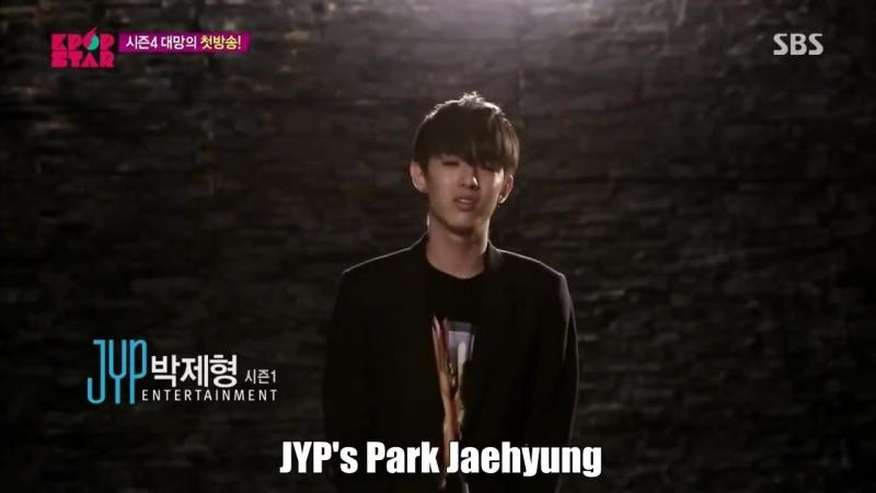 JYPs (Jimin,Ayeon,Bernard,Jaehyung,Chae Sisters) Cut @ KpopStar4