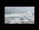 Дикий пляж, Большие волны, стихия, чуть не унесшая меня