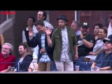 Jimmy Fallon, Justin Timberlake break out a Single Ladies dance at the US Open