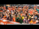 Justin Bieber New Hairstyle Fans Reaction on TODAY Show Plaza Sep 2015