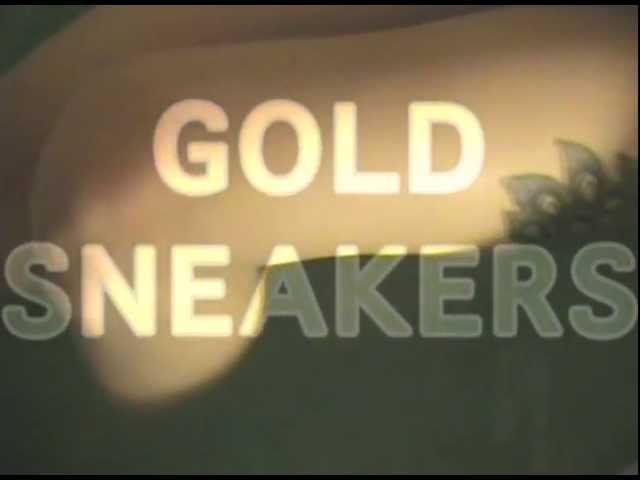 WAX IDOLS - GOLD SNEAKERS