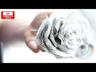 Как сделать розы из бумаги своими руками | How to make a paper rose from his hands