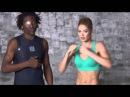 Тренировка с топ моделью Victorias secret Doutzen