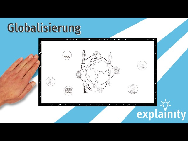 Globalisierung einfach erklärt (explainity® Erklärvideo)