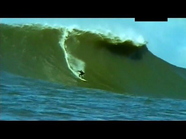 Маверикс - участок с самыми большими волнами для серфинга.